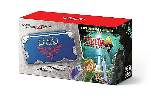 Hylian Shield New 2DS XL Box Art