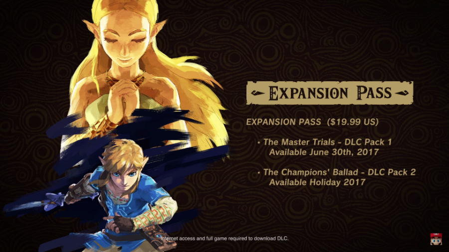 Breath of the Wild Expansion Pack Details