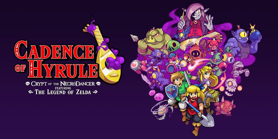 Cadence of Hyrule - Crypt of the Necrodancer ft. The Legend of Zelda Launches June 13, 2019