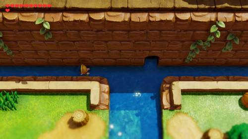 Link's Awakening Switch Heart Pieces