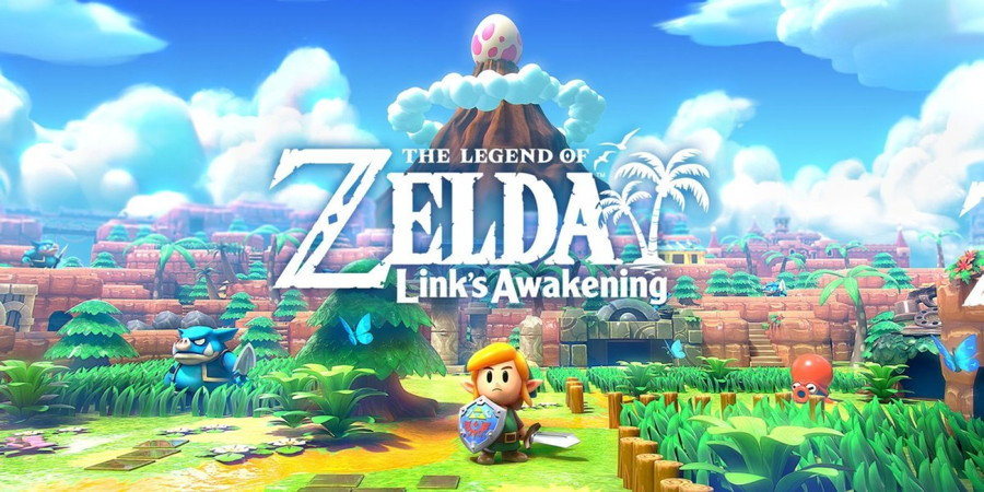 Link's Awakening Switch Logo