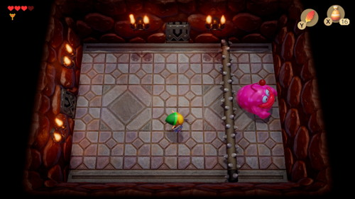 Link's Awakening Switch Rolling Bones