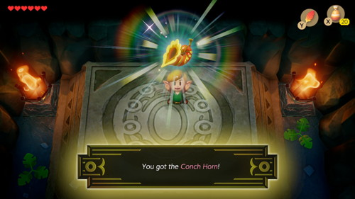Link's Awakening Switch Conch Horn