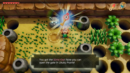 Link's Awakening Switch Slime Key
