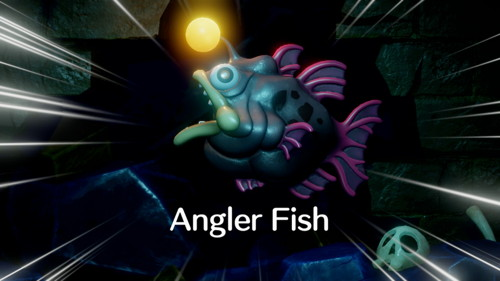 Link's Awakening Switch Angler Fish