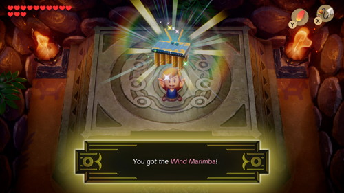 Link's Awakening Switch Wind Marimba