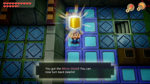 Link's Awakening Switch Mirror Shield