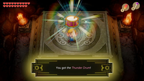Link's Awakening Switch Thunder Drum