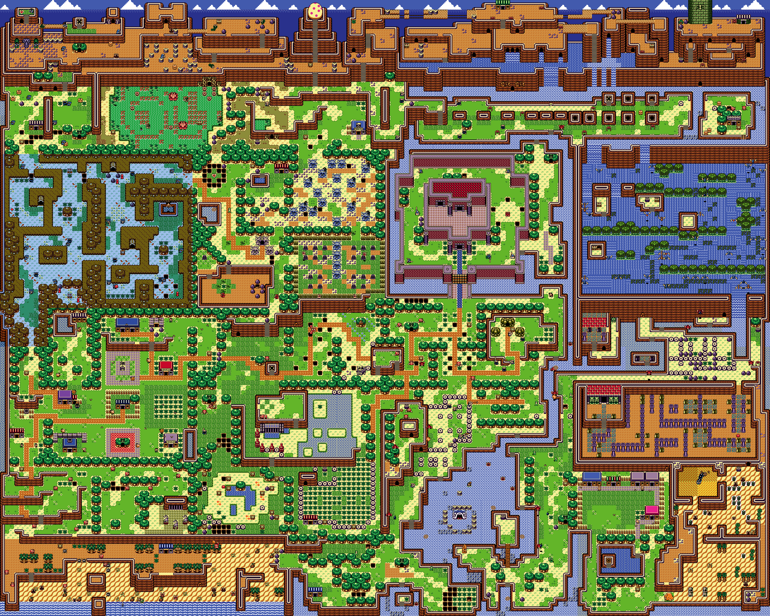 Link S Awakening Overworld Map
