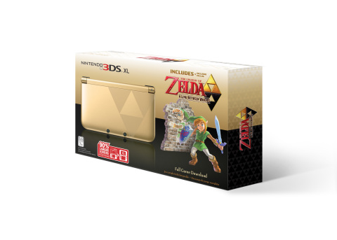 With the launch of The Legend of Zelda: A Link Between Worlds on Nov. 22, the tradition of gold cont ...