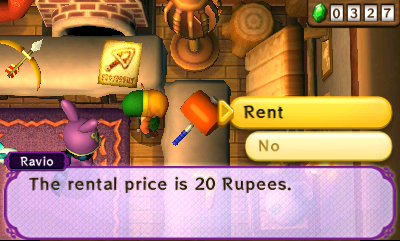 A Link Between Worlds Hammer Rental