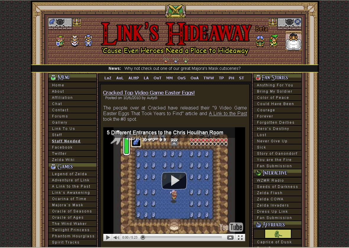 Link's Hideaway Version 2