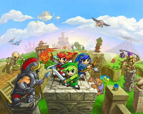 Tri Force Heroes Launches October 23 Artwork