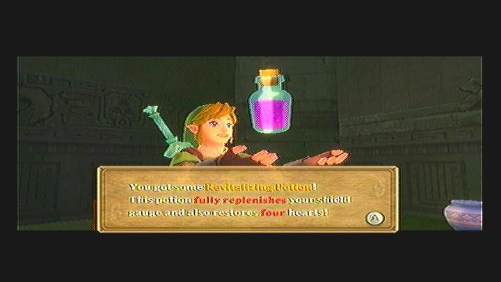 Skyward Sword Bottle #2