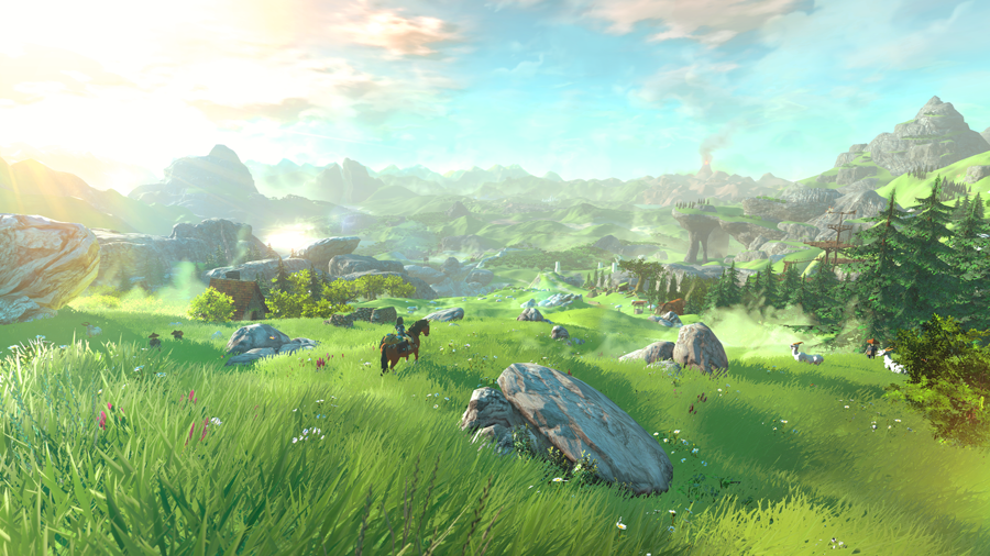 Zelda Wii U Screenshot