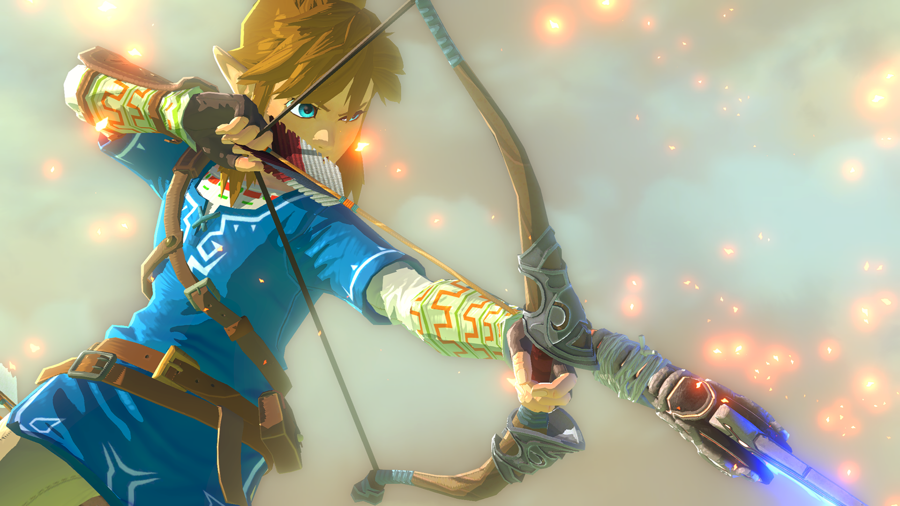 It WAS Link in the Zelda Wii U Trailer