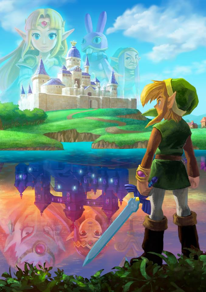 A Link Between Worlds Artwork Lorule