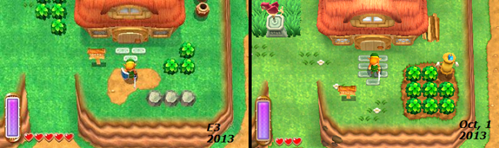 A Link Between Worlds Screenshot Comparison