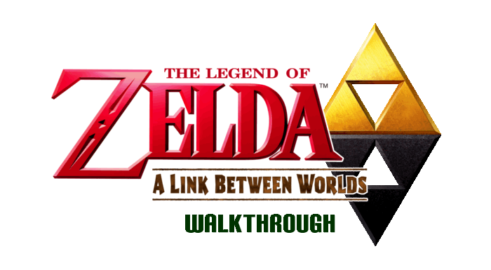 Zelda A Link Between Worlds Walkthrough