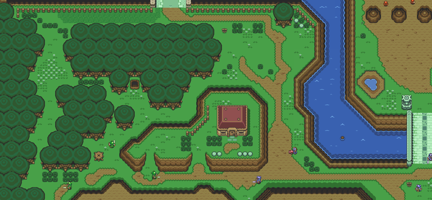 A Link to the Past Live Map