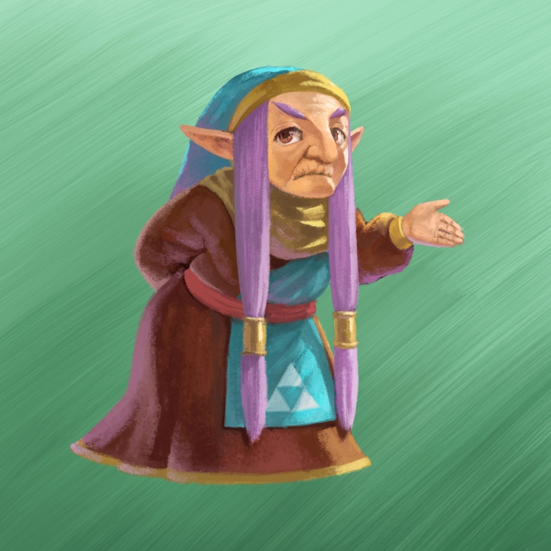 A Link Between Worlds Artwork