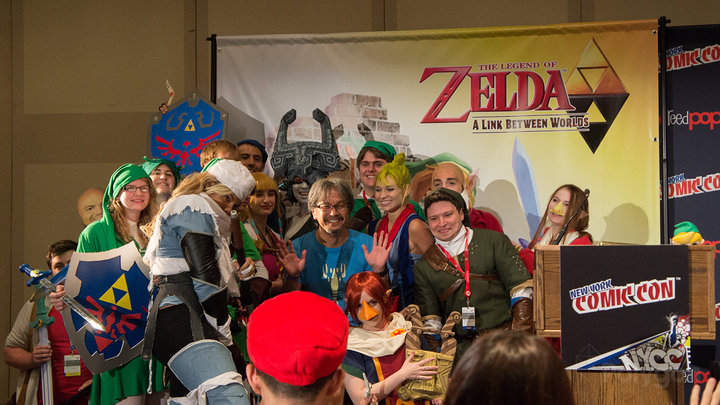 Aonuma at New York Comic Con