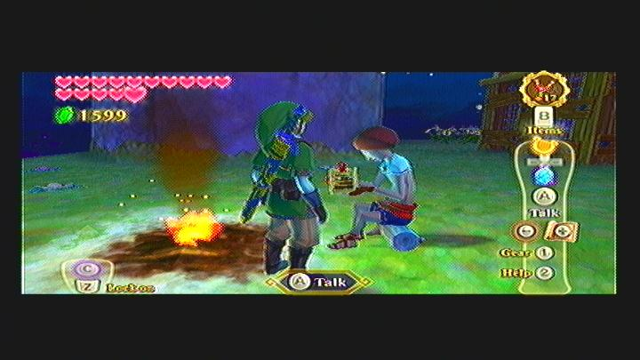 Skyward sword bug catching game prizes