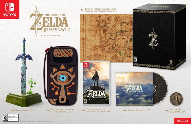 Amazon Cancelling Some Breath of the Wild Master Edition Preorders