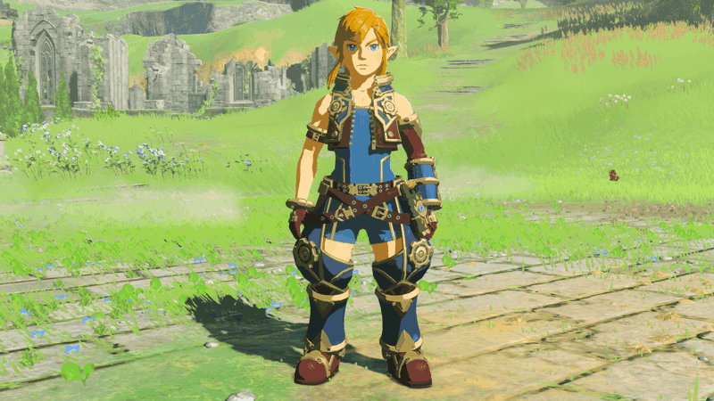 Breath of the Wild Xenoblade Outfit