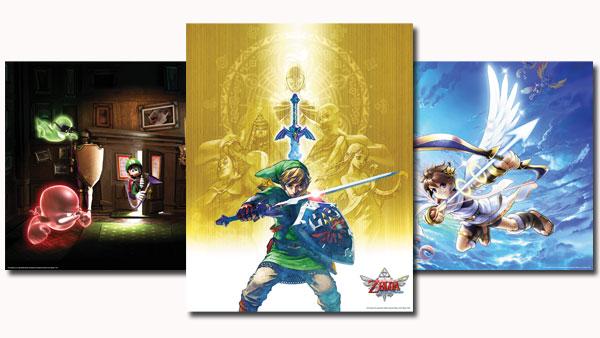 Club Nintendo 2012 Platinum posters