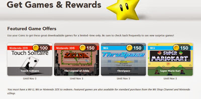 Club Nintendo October Rewards