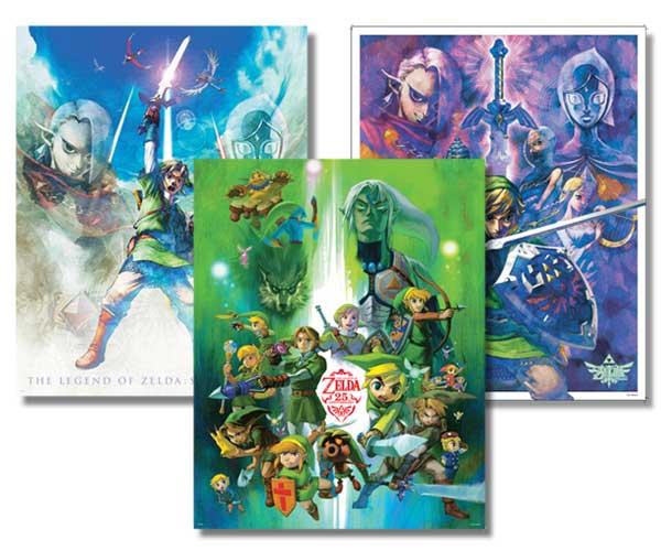 Club Nintendo Zelda Posters