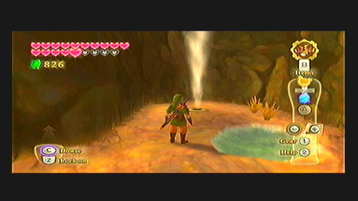 Skyward Sword Crystal Ball Quest