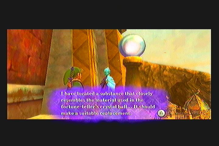 Skyward Sword Fortune Teller Quest Quest