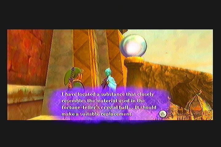 Skyward Sword Fortune Teller Quest Quest