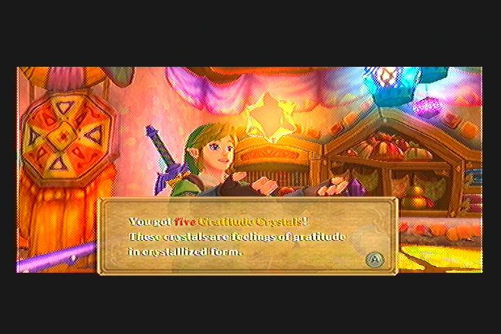 Skyward Sword Crystal Ball Quest