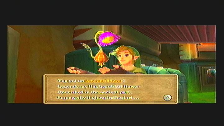 Skyward Sword Fixing Scrapper Ancient Flower