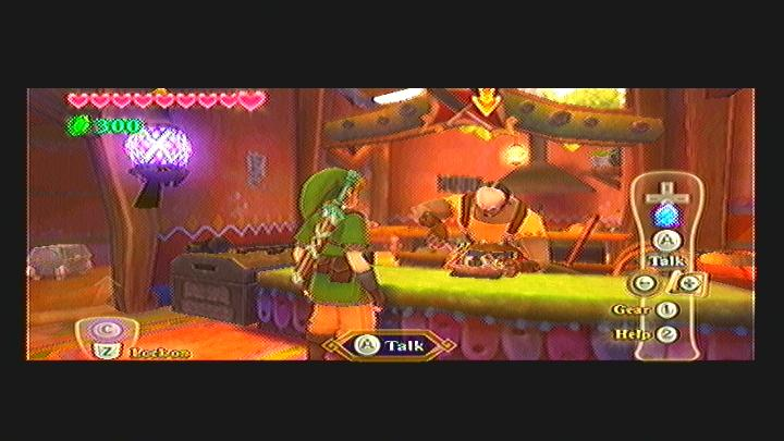 Skyward Sword Fixing Scrapper