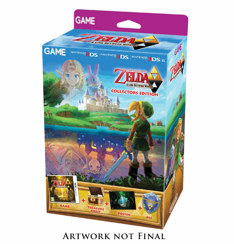 GAME Exclusive A Link Between Worlds Collectors Edition
