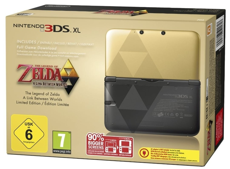 German A Link Between Worlds 3DS XL