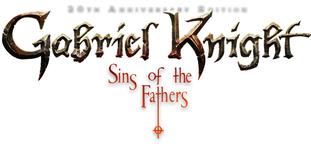 Gabriel Knight: Sins of the Fathers 20th Anniversary Edition Logo