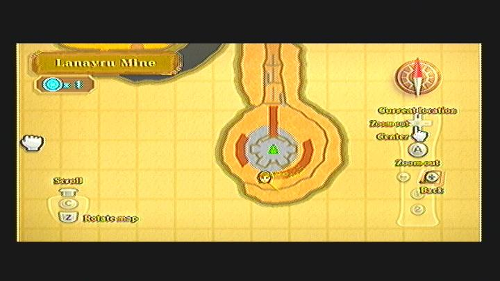 Skyward Sword Lanayru Mine Goddess Cube