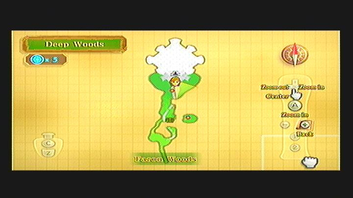 Skyward Sword Deep Woods Goddess Cube