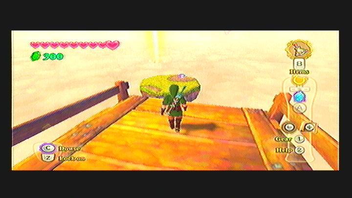 Skyward Sword Skyloft Goddess Cube Chest