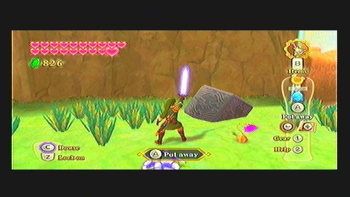 Skyward Sword Lanayru Gorge Goddess Cube