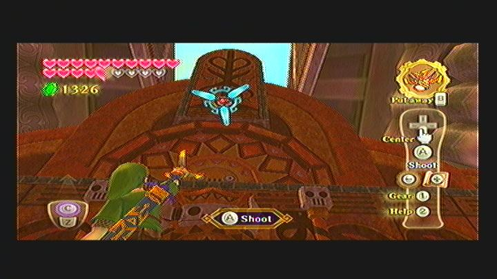 Skyward Sword Pirate Stronghold Goddess Cube
