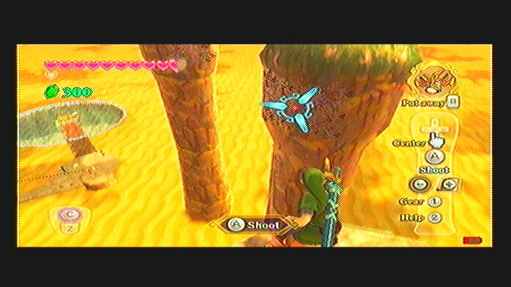 Skyward Sword Skipper's Retreat Goddess Cube