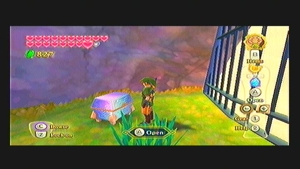 Skyward Sword Lanayru Gorge Goddess Cube