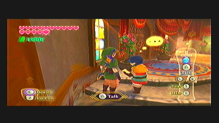 Skyward Sword Haunted Restroom Quest