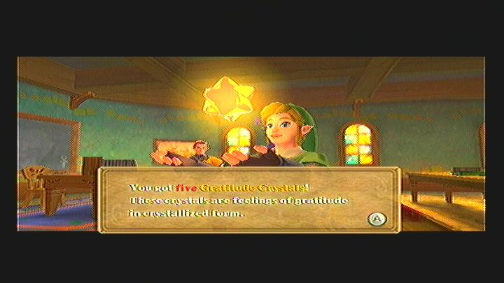Skyward Sword Haunted Gratitude Crystals